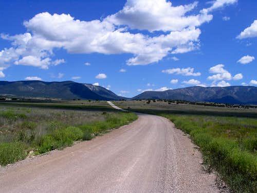 Capitan Mountains Highpoint