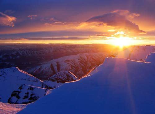 Timpanogos Sunrise