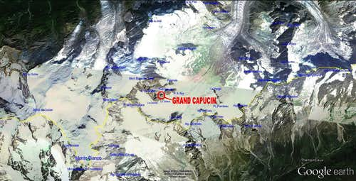 Google Earth  Grand Capucin (The MAP)