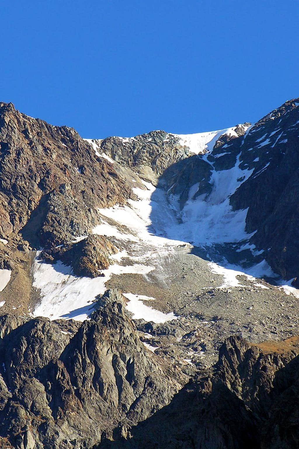 Mont Vèlan Glacier