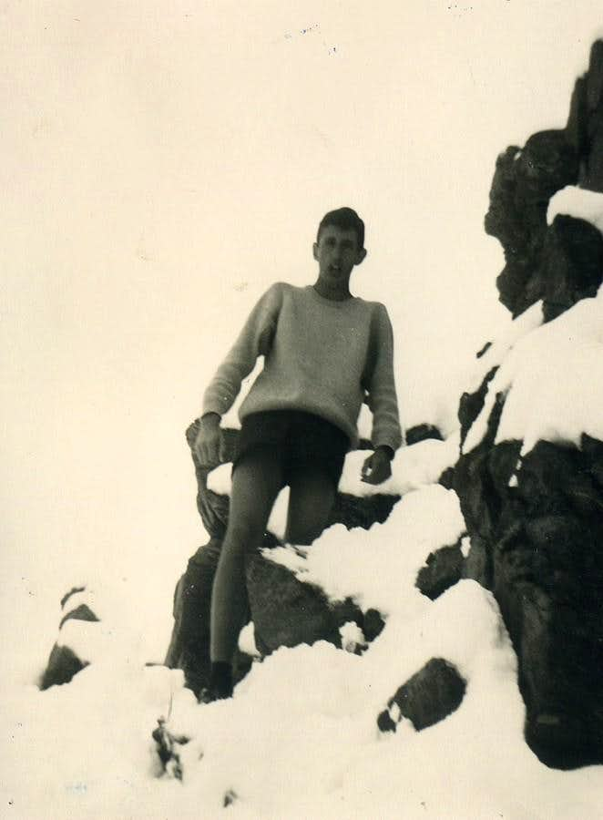 On the Old Discovery Atop frozen and suffering 1965