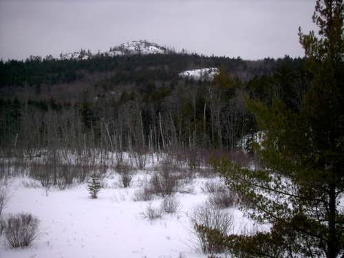 The view of Hogback Mountain...