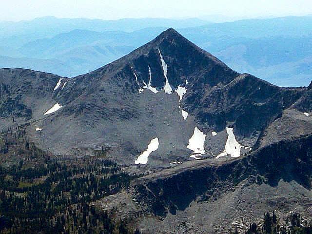 Ajax Peak as seen from the...
