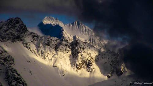 Watzespitze 11587 ft / 3532 m