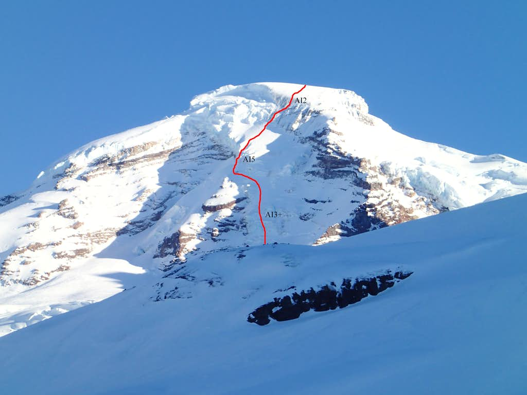 Coleman Headwall Route