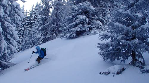 Skiing Cumbres Pass, CO
