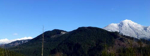 Littler Pilchuck from 'Menzel Hill'