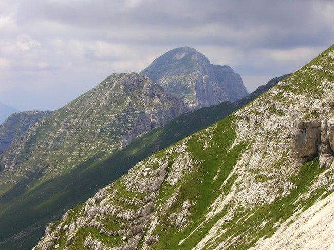 Monte Cimone / Strma pec, 2380mseen from the...