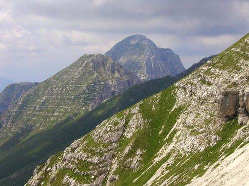 Monte Cimone / Strma pec, 2380mseen from the...