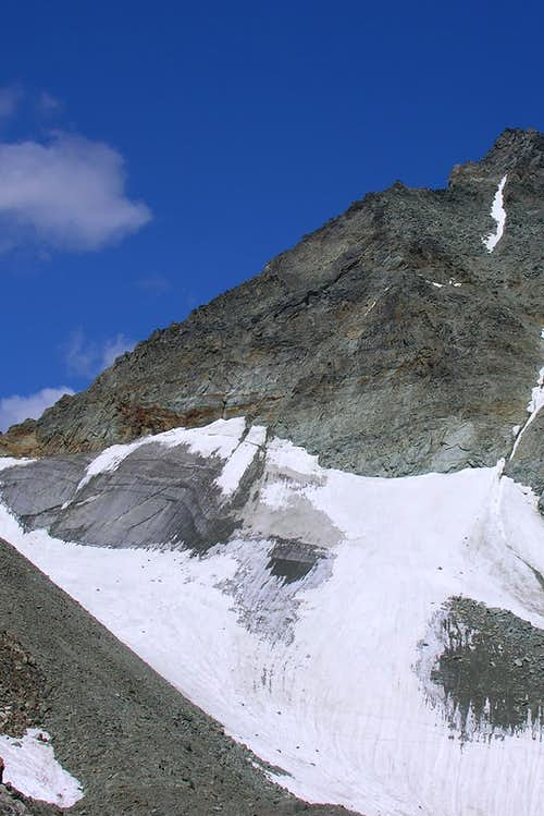Colle Chardoney Glacier