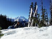 Got a great view of Rainier