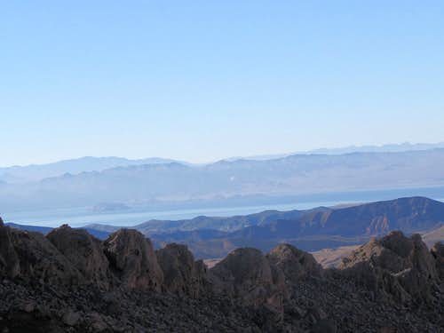 A part of Lake Mead