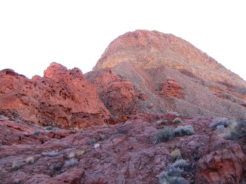North face of Murphy Peak 822 meters