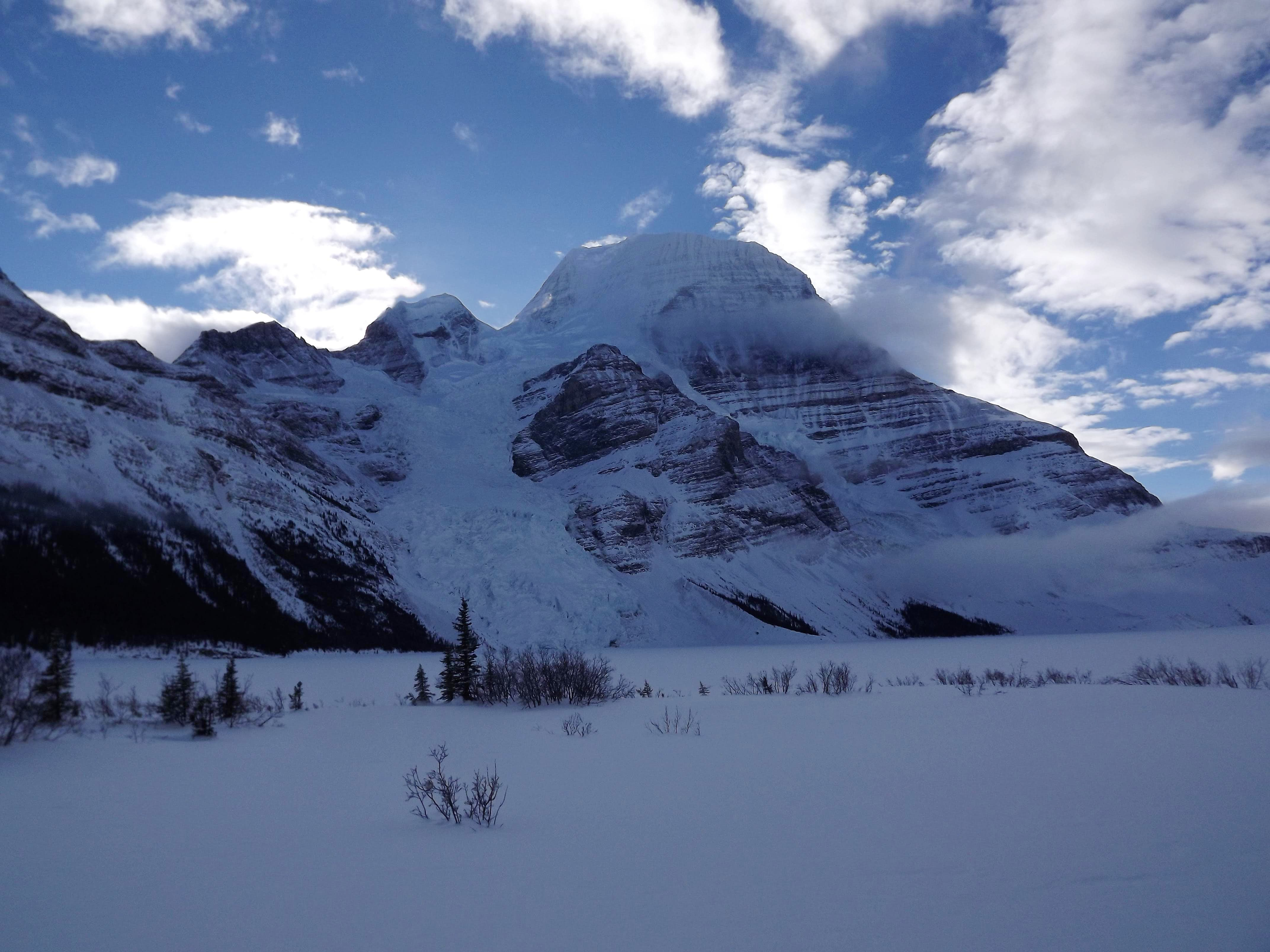 Mount Robson - Berg Lake Winter