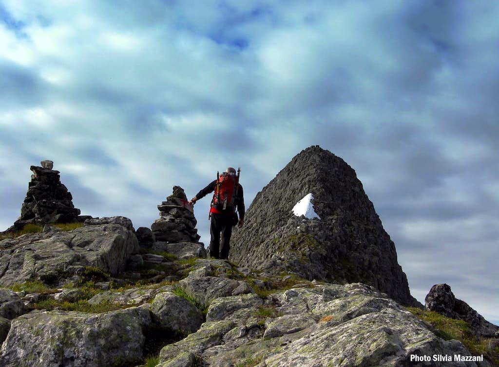 Eggjenibba - Last rocky slope before the summit