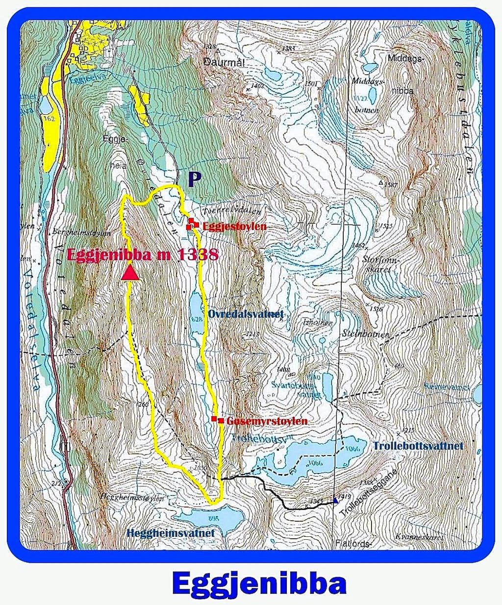 Eggjenibba map