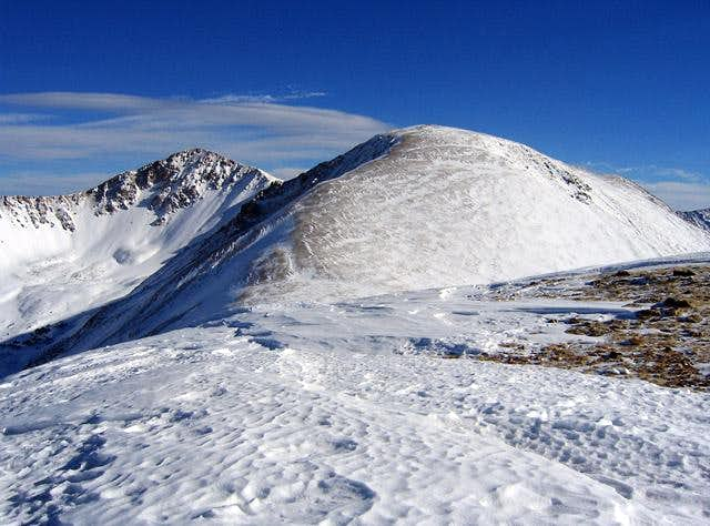 Bard Peak and Mount Parnassus