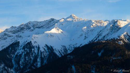 Pfroslkopf (3152m, W-Face)