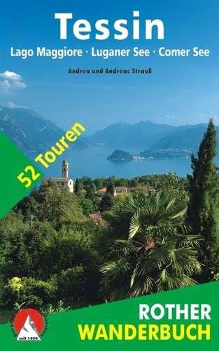 Ticino Books: Rother Wanderfuhrer Tessin South