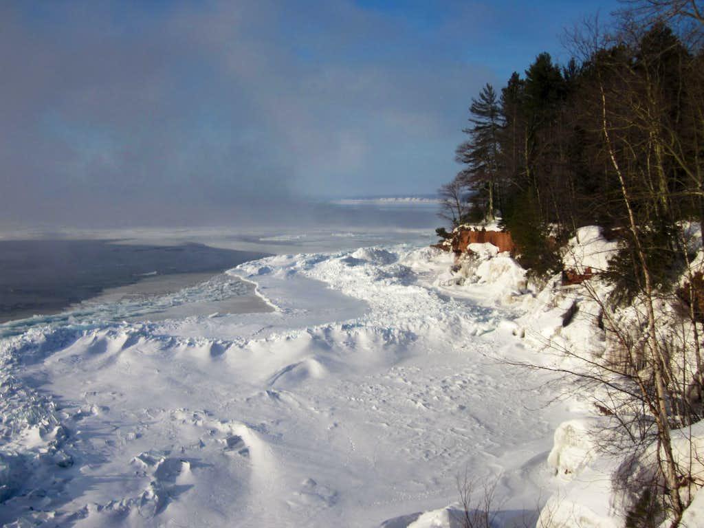 Early Morning Ice - Madeline Island