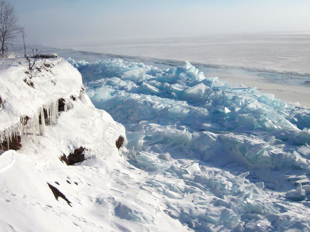 Blue Ice - Lake Superior