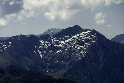 Monte Renoso behind Punta Capanella