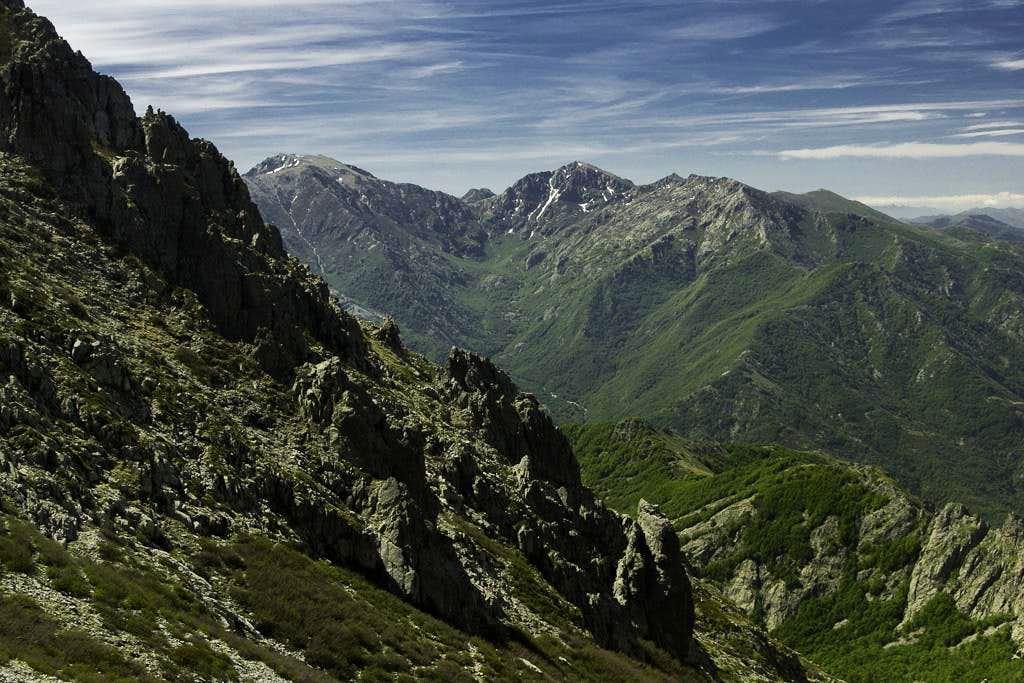 Monte Renoso and Punta Capanella