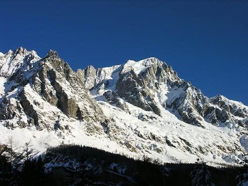 Les Grandes Jorasses (4208 m.)