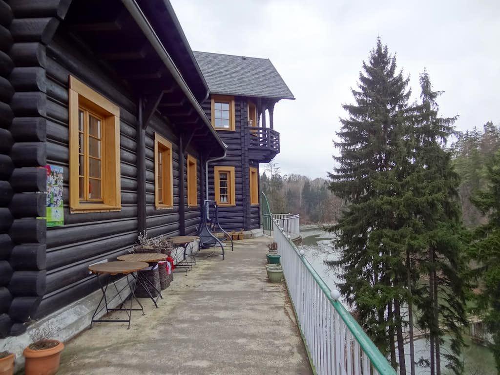From the balcony of Perla Zachodu