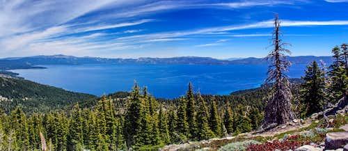 Lake Tahoe from Ellis Peak