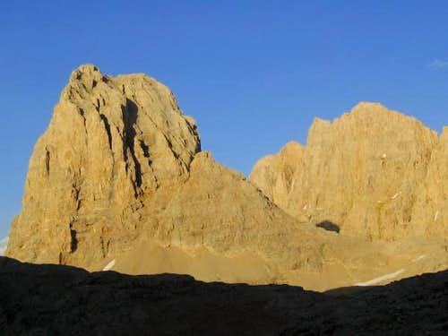 Direktas (3510 m.) west face...