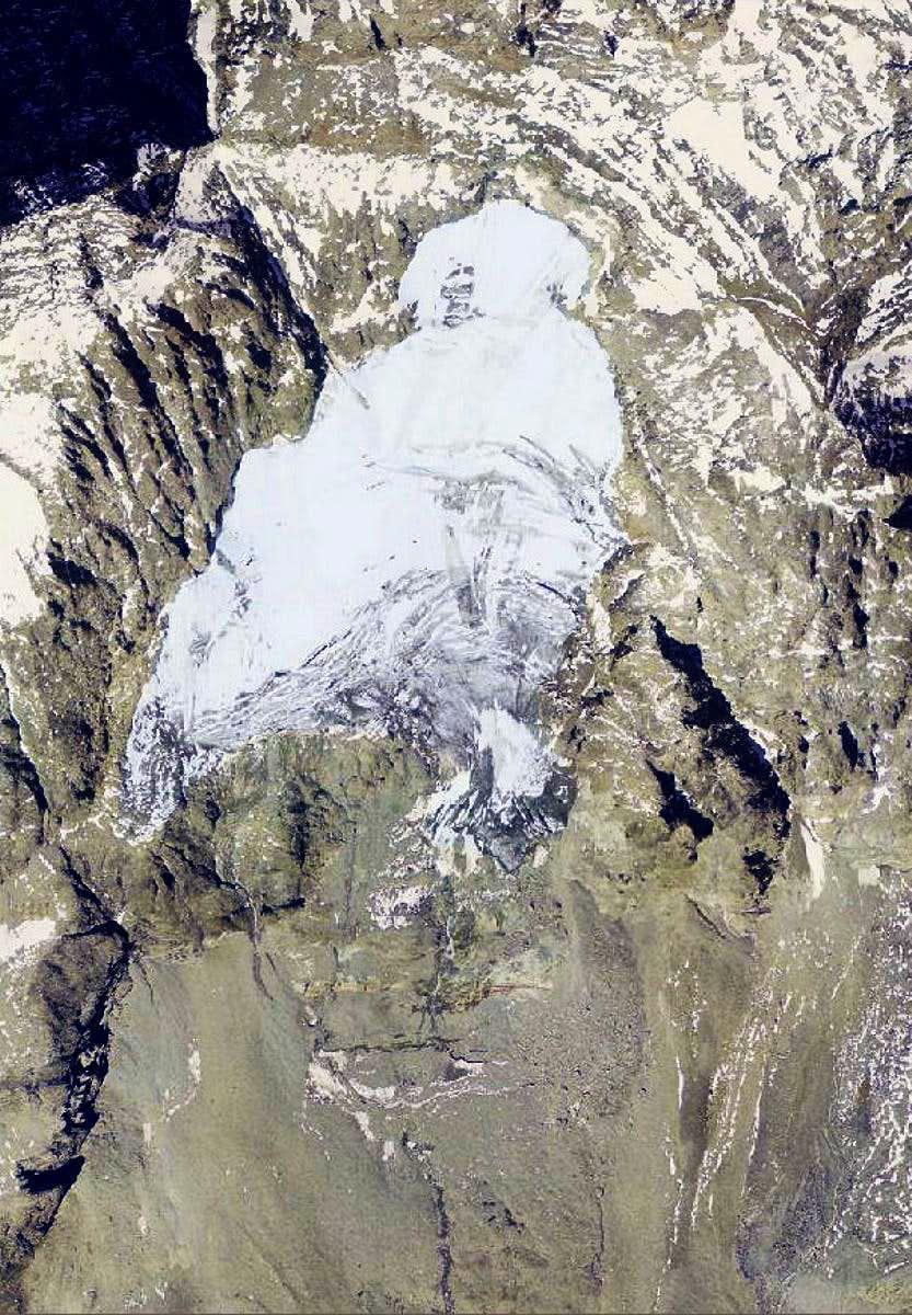 Pic Tyndall Glacier