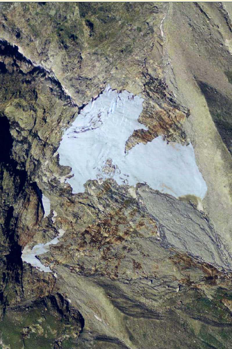Des Jumeaux Glacier