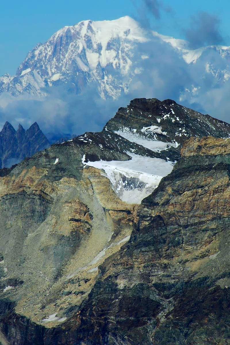 Col du Château des Dames Glacier