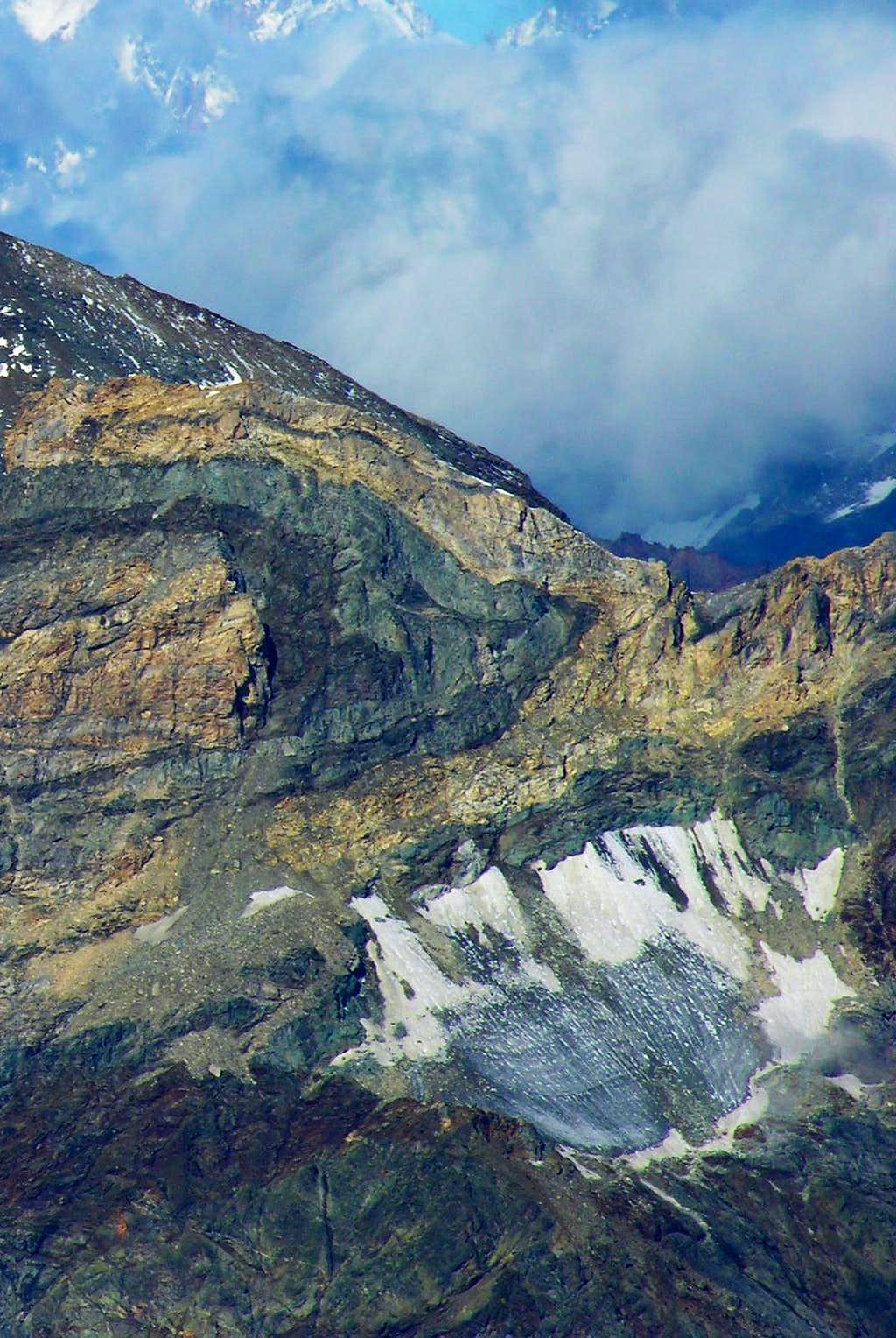 Mont Blanc du Créton Glacier