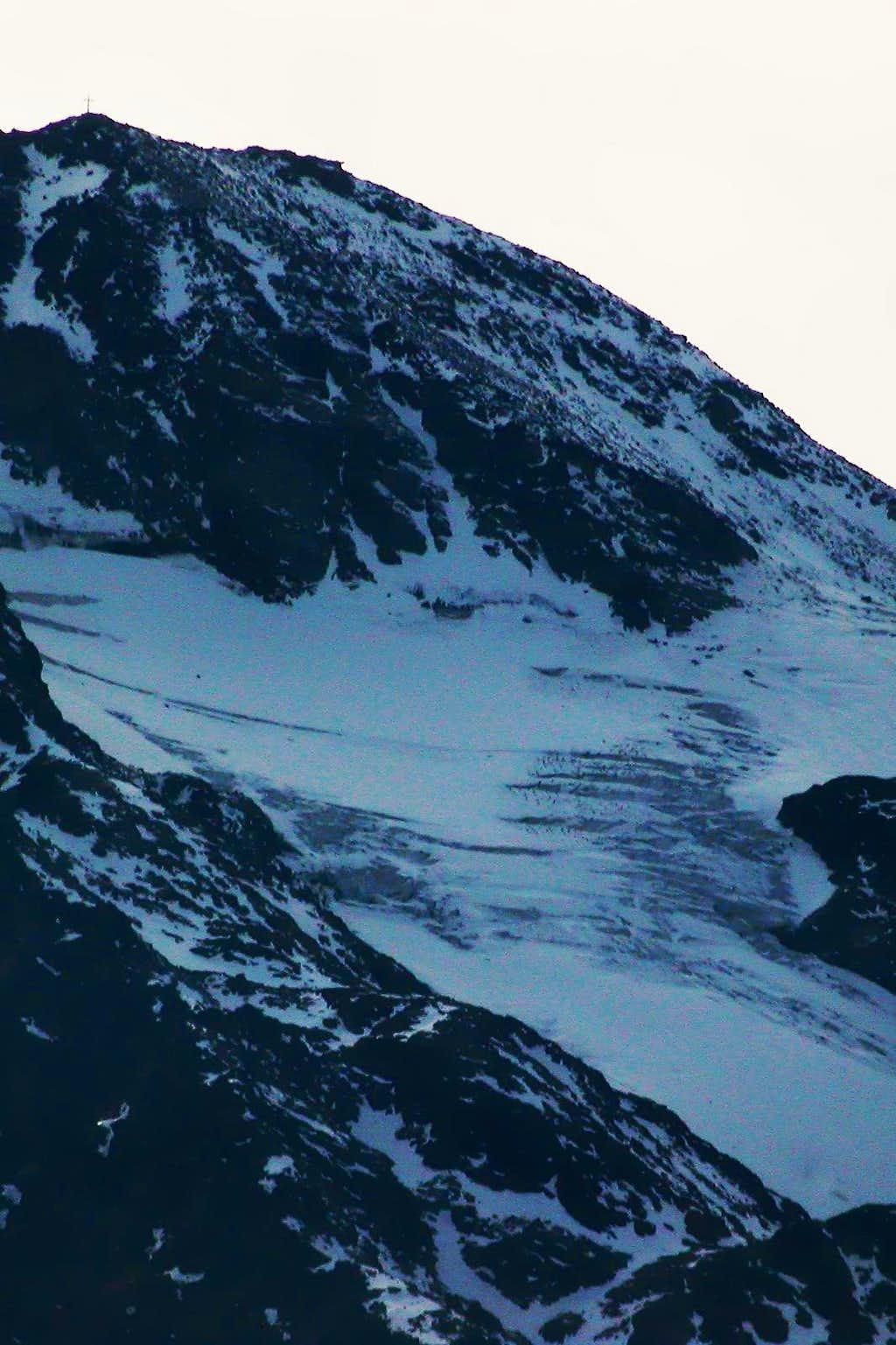 Volfrède Glacier