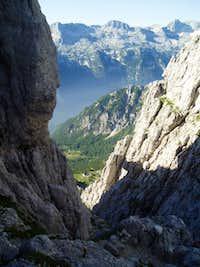 View down to Rif. Corsi