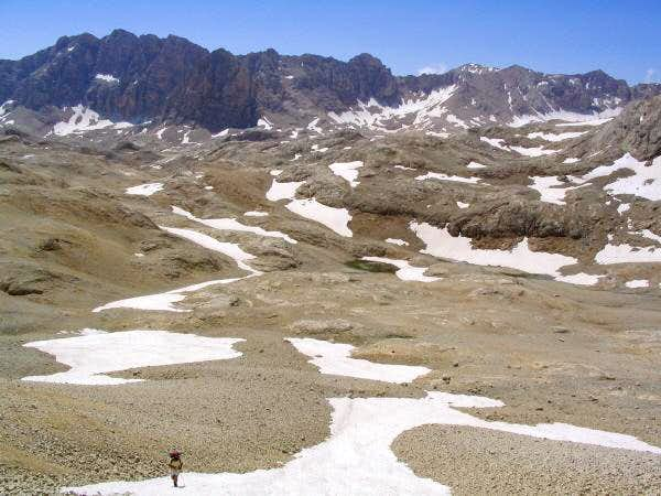 unnamed 3500m. pass on the...
