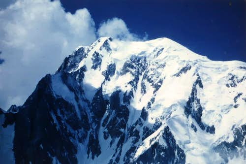 Northern Orographic Mount Blanc Brenva Face 1969