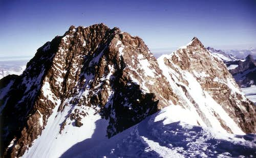 E)- AOSTA VALLEY in SUMMITS: MOUNT ROSA or ROIZA' - LEFT SIDE Fifth Part