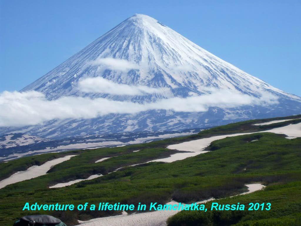 Klyuchevskaya Sopka volcano, Kamchatka, Russia