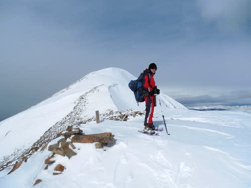 Winter Mountaineering Around Boreas Pass