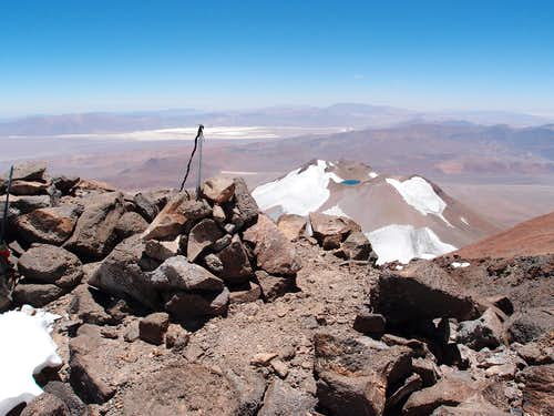 Tres Cruces Central summit (6629m / 21,749 ft)