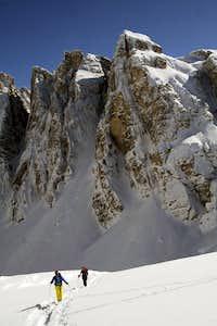 Skiing under Crode Fiscaline