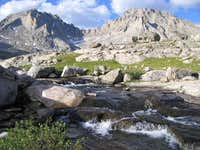 Fremont and Jackson Peaks from Indian Basin