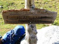 Trail Junction near Titcomb Basin