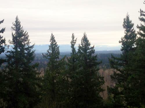 The foothills from Cedar (Echo) Mountain