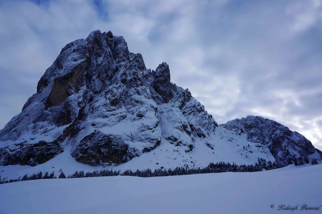 Sassolungo North Face