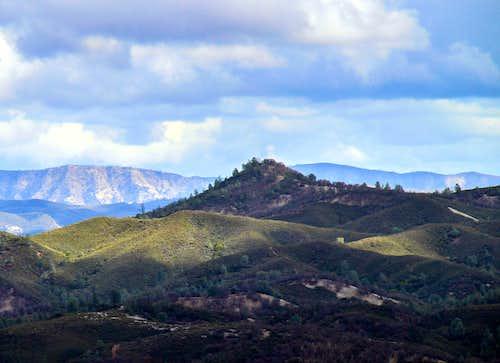 Bally Peak (Cache Creek Wilderness)