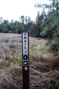 Sign at trailhead